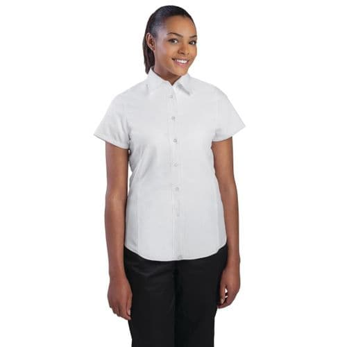 Chef Works Womens Cool Vent Chefs Shirt White L
